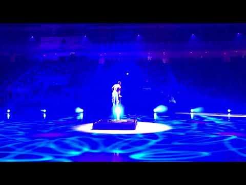 Aerial Acrobatics & Ice Skating Show @ CNE