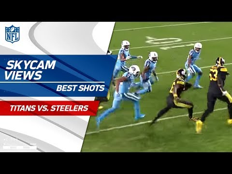 Best SkyCam Views from TNF! | Titans vs. Steelers | NFL Wk 11 Highlights