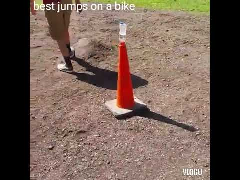 best jumps on bikes (slow motion)