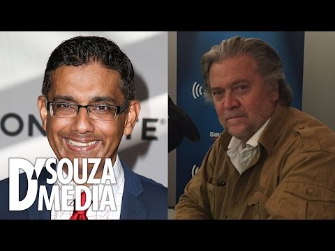 SiriusXM Patriot: D'Souza Analyzes Trump Policies With Steve Bannon