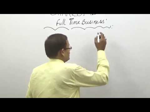 SHARES AS FULL TIME BUSINESS (తెలుగు) I STOCK MARKET AS A CAREER