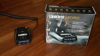 Uniden LRD950 Radar Detector Features & Overview
