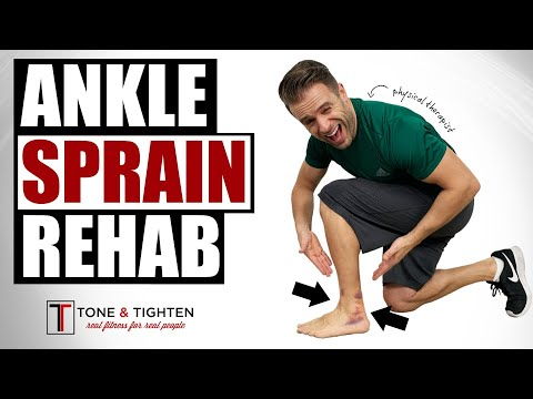 RECOVER FASTER! Ankle Sprain Treatment At Home from a Physical Therapist