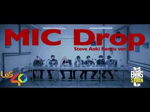 [AUDIO] 180211 Mic Drop Remix by BTS was played on Spain Radio 'Los 40 Principales'