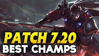 Patch 7.20 NEW Best Champions to CLIMB SOLO QUEUE for EVERY role (League of Legends)