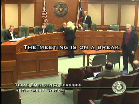Part 1: TESRS Board Meeting 4/2 - 4/3/2014 (video 1 of 2)