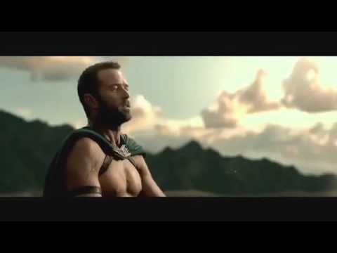 300: Rise of an Empire - Spartan scene