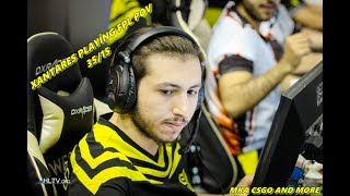 CS:GO | XANTARES - 35/15 On Mirage @ FPL [POV]