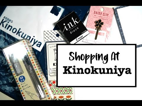 Shop With Me at the Kinokuniya Store