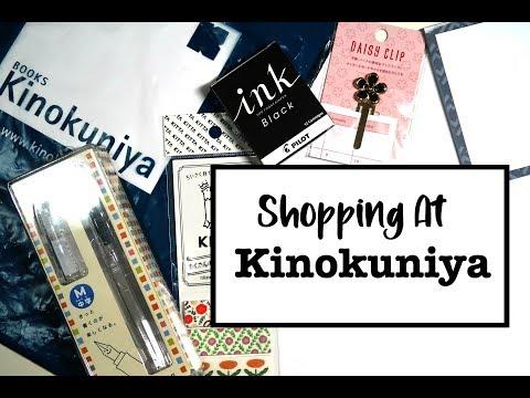 Shop With Me At The Kinokuniya Store