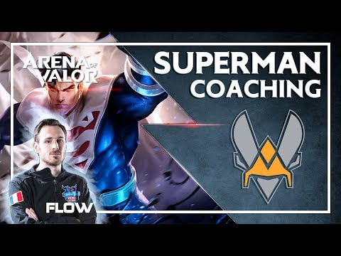 🐝 COACHING VITALITY - SUPERMAN sur Arena of Valor