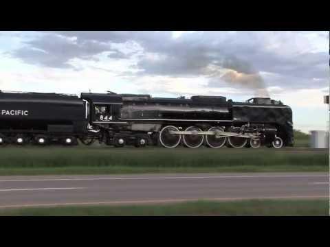 Union Pacific 844 - 2012 Cheyenne Frontier Days Train