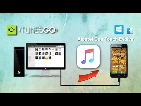 How to Transfer Music from PC to Alcatel One Touch Evolve, Import Songs to Alcatel One Touch Evolve