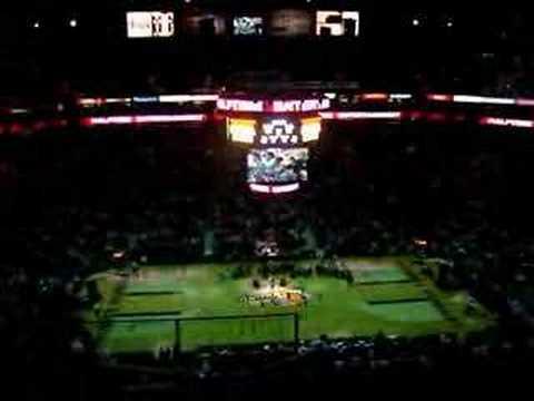 Bianca Ryan sings Superstar at WNBA Mercury game.