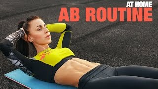 Intense Abs Workout (3 MINUTE HOME AB ROUTINE!!)