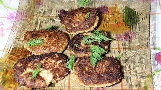 Рецепт котлет без мяса, антикризисные рецепты, постные котлеты