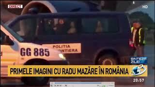 VIDEO. Imagini în premieră cu Radu Mazăre pe aeroportul București