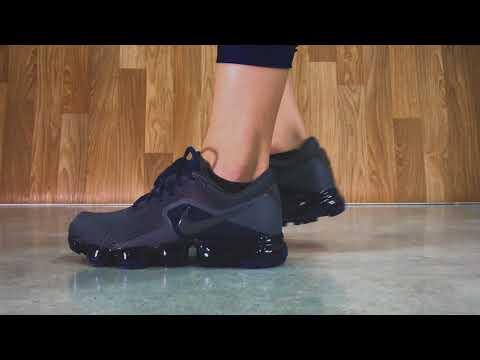 f4db6c33ab Nike Air VAPORMAX Midnight Fog/Navy | Sneaker10 - YouTube