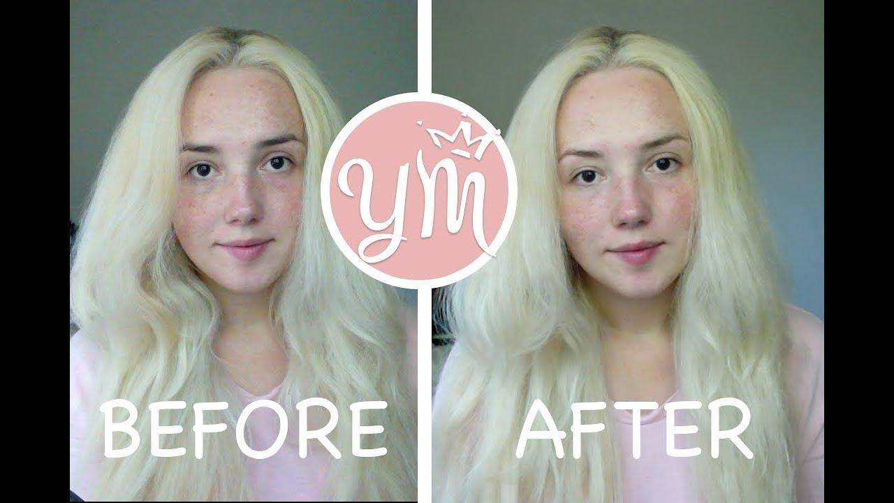 How To Bleach Eyebrows Jolen Creme Bleach Demo Before And