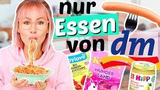 24 Stunden nur von DM essen 😳| ViktoriaSarina