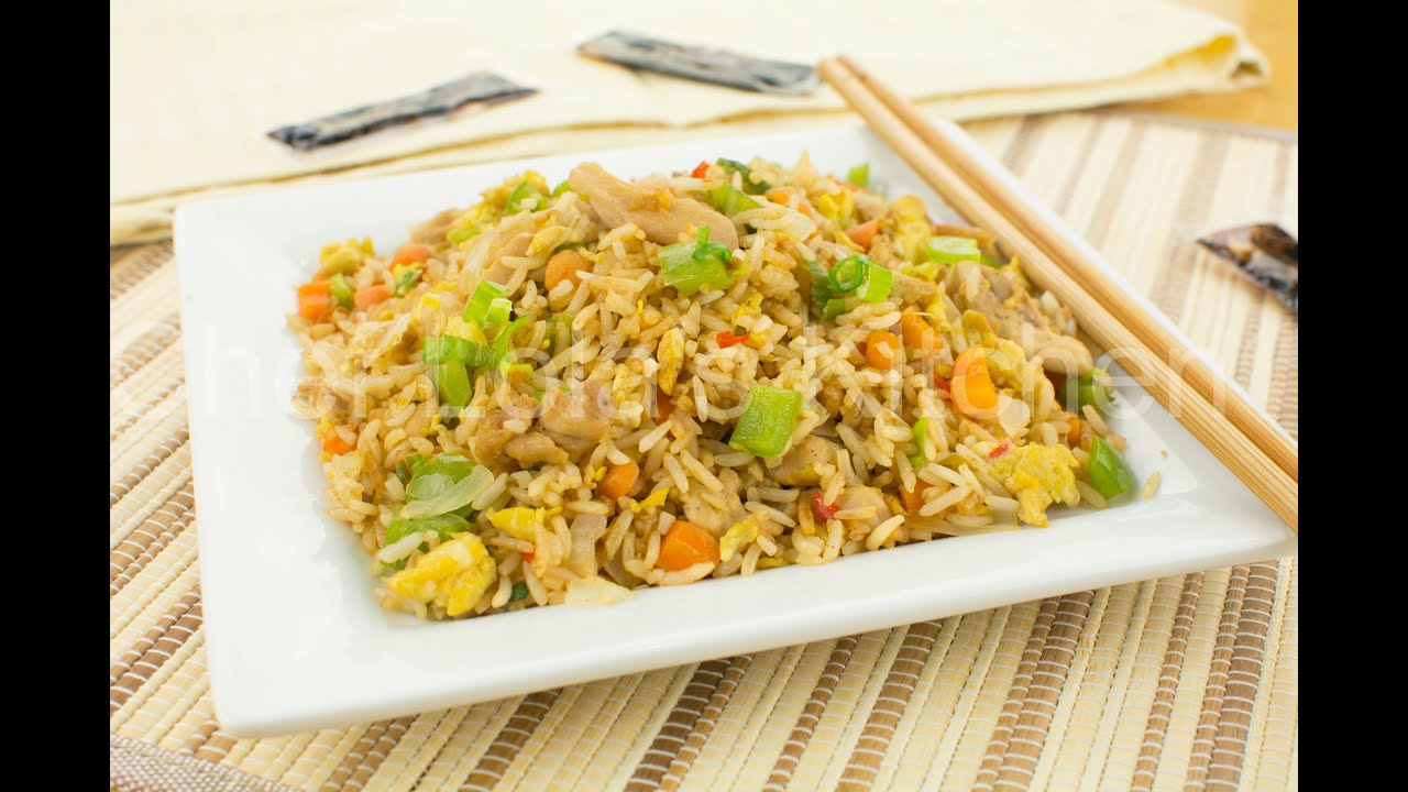 How To Make Chicken Fried Rice  Chef Lola's Kitchen