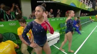 Alexandra Raisman USA Qual BB Olympics Rio 2016
