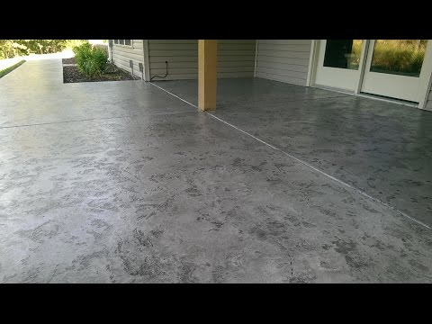 Decorative Concrete Tuscan Slate Acid Stain Antique Overlay 573-216-0930 Lake Ozark