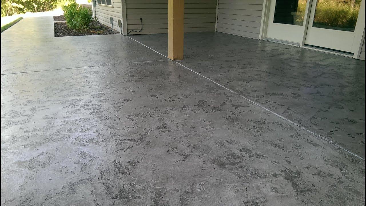 decorative concrete tuscan slate acid stain antique overlay 573 216 0930 lake ozark