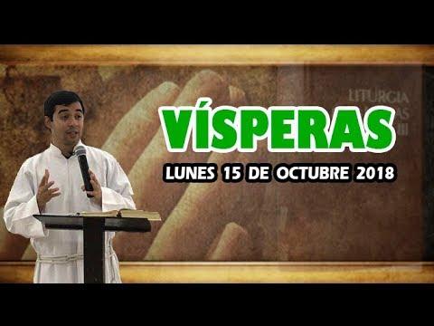 Oración de la tarde (Vísperas), LUNES 15 DE OCTUBRE 2018 | Padre Sam