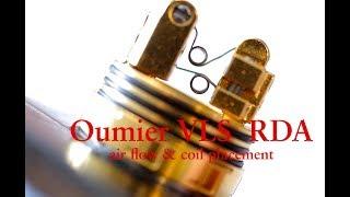 Oumier VLS RDA, airflow & coil placement