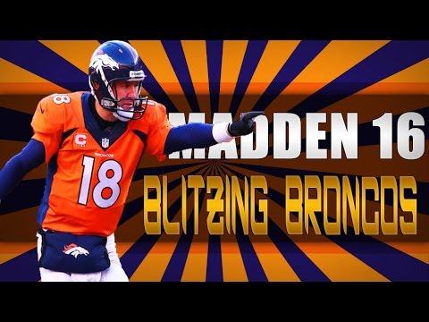 Quarters B GAP BLITZ !! EXPOSED | Denver Broncos Defense | Madden 16
