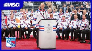 Celebration of Rangers' 1994 Stanley Cup Win: Full Ceremony | New York Rangers Game Night