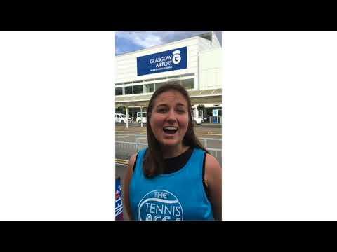 FlightPath Fund Supports Tennis Group   Glasgow Airport