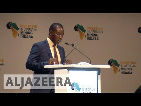 Mining communities struggling as industry giants meet in S Africa