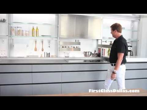 Pohlenz Valcucine Custom New Logica Kitchen - YouTube