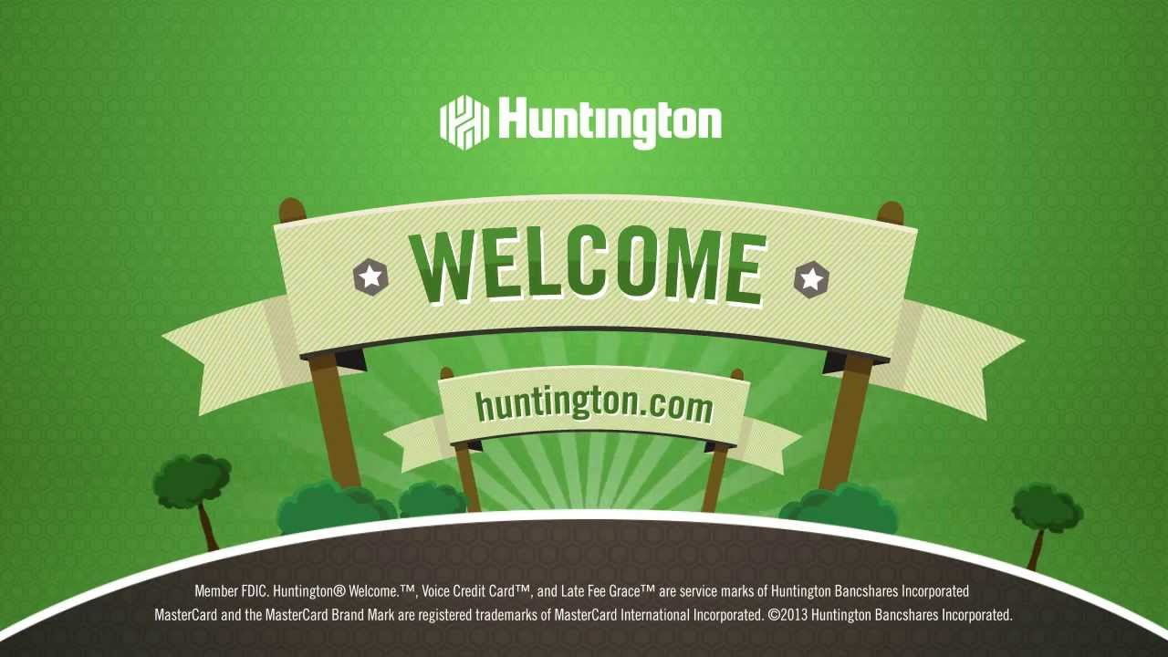 Huntington bank introducing the voice credit card youtube colourmoves