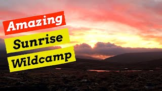 Backpacking & Wild Camping  - Sgor Gaoith, Cairngorms.