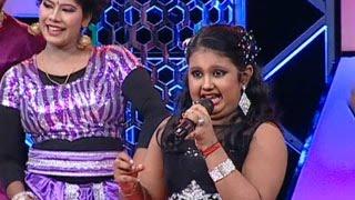 Super Star Junior- 5   Rithika singing Thada karunguyile katcharikke...