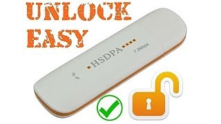 Unlock Your USB INTERNET MODEM 100% WORKS
