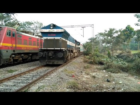 High Speed LHB •WDP4 LHF• 12523 NJP-NDLS SUPERFAST