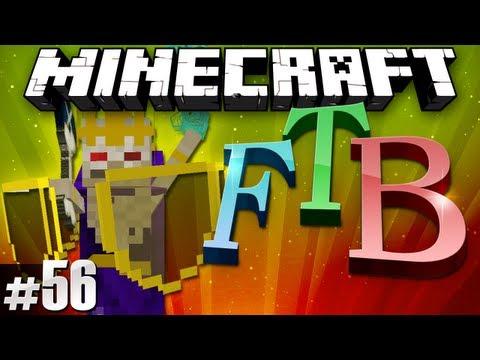 Minecraft Feed The Beast #56 - Twilight Lich Boss Fight!