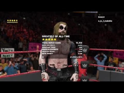 R.A.W Monday Night Anarchy Andrew v Ez Extreme Rules
