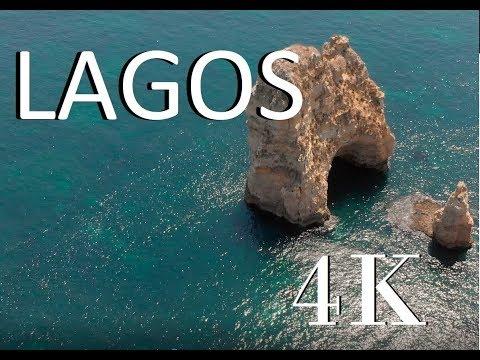 Lagos Portugal - 4k Drone