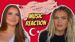 TURKISH MUSIC REACTION | Mero, Murda ft Ezhel, Ali471, Ece Seckin, Ismail YK