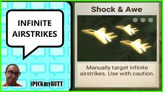 Rebel Inc - Best way to use airstrikes [Cheat] Shock & Awe