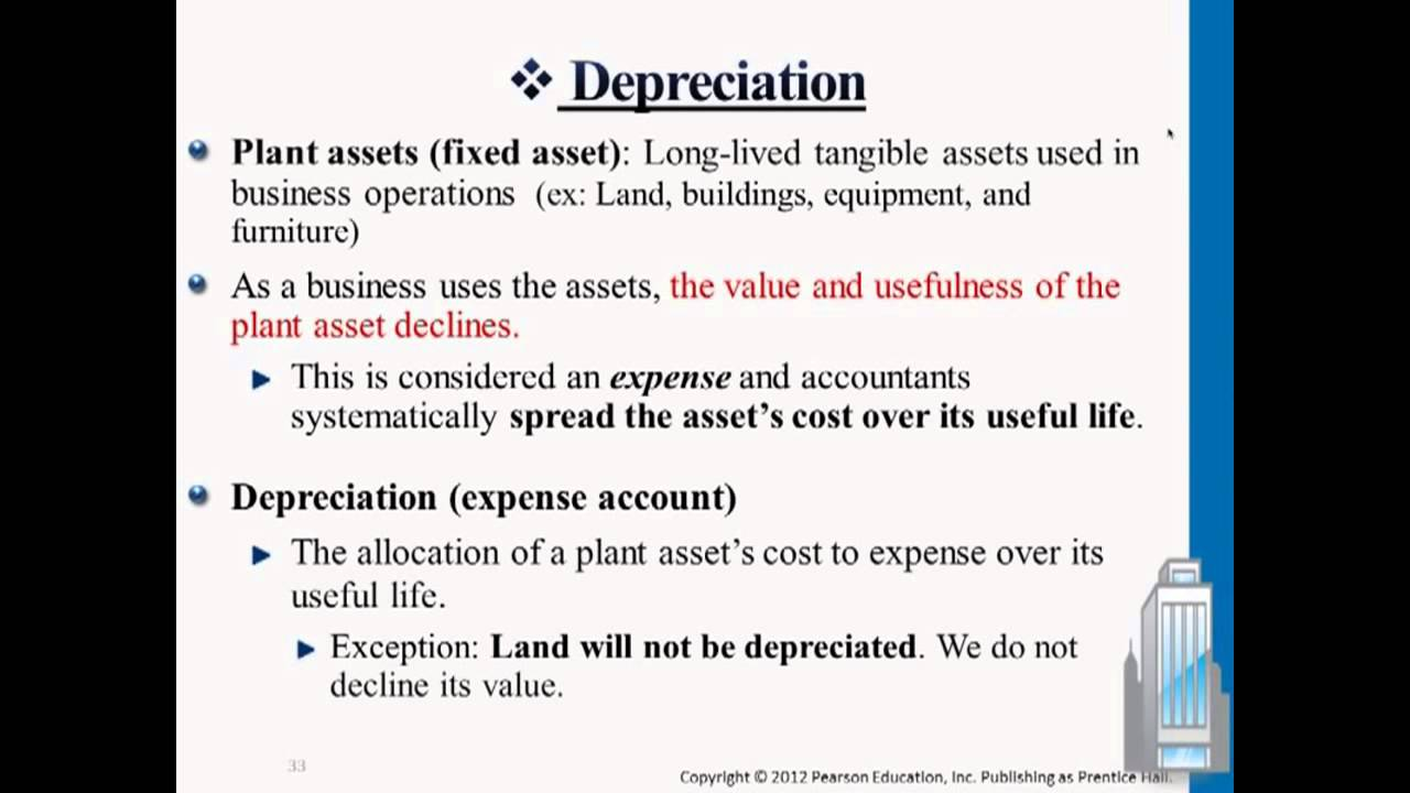 depreciation posting and journal entry youtube
