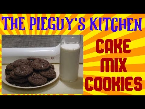 HOW TO MAKE CAKE MIX COOKIES (SUPER EASY!!)