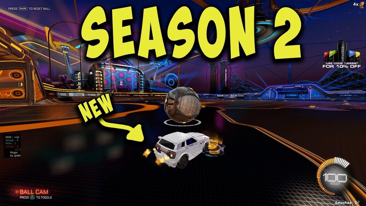 New season, New map, New car, New Jessie