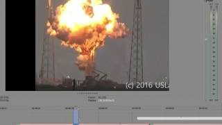 Detailed analysis of Spacex Rocket Explosion