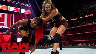 Ember Moon vs. Sarah Logan: Raw, July 16, 2018